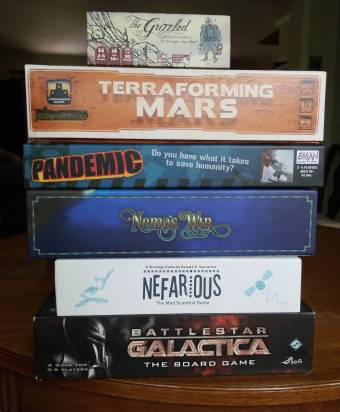 some tabletop games