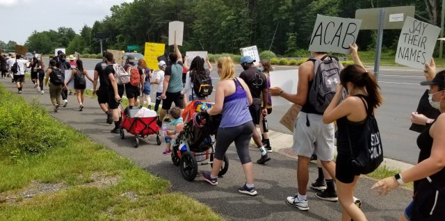 George Floyd protest Manassas