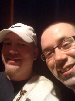 Tobi Weidinger & BD. An early selfie!