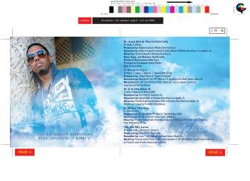 CD Design: Bobby V - The ReBirth
