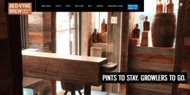 bed-vyne_brew - Website Design