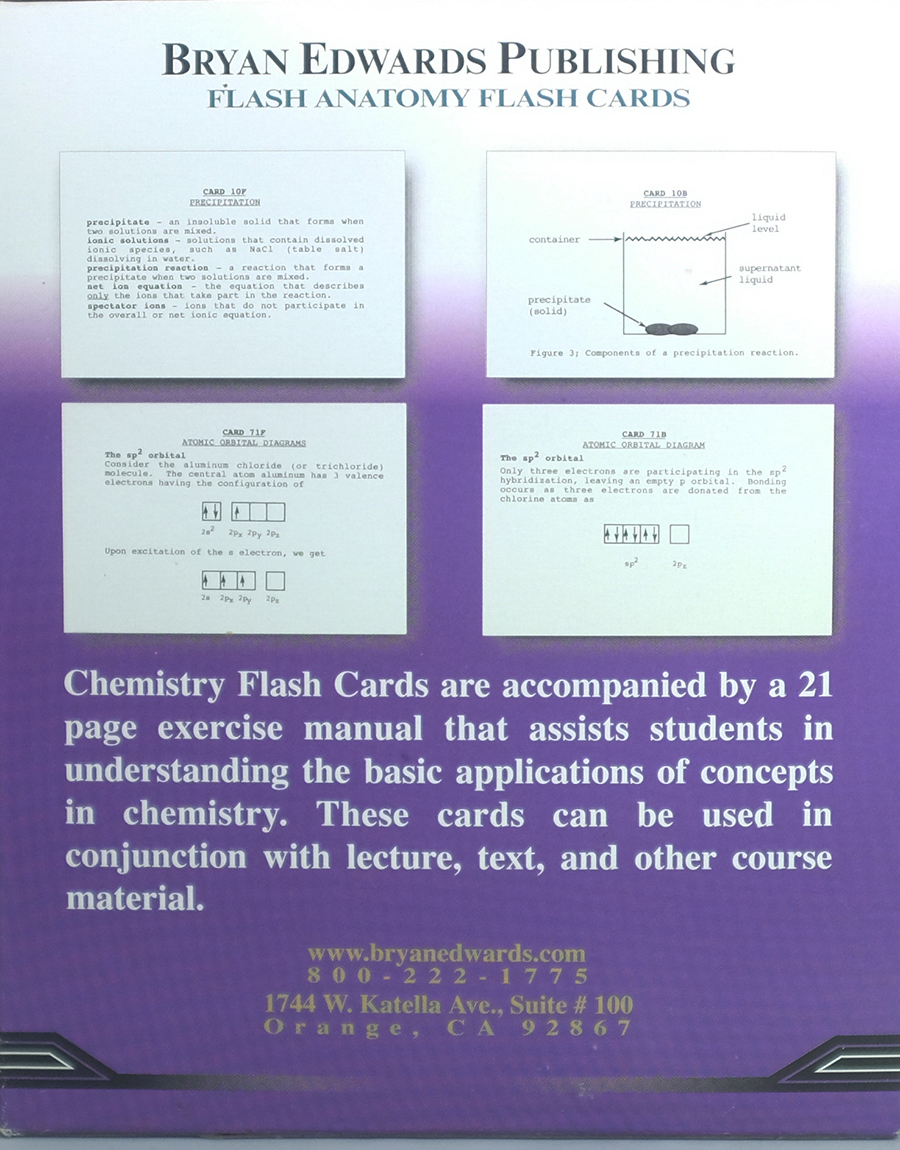 Chemistry flash cards - bryanedwards.com