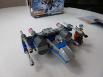 Lego Star Wars Resistance X Wing fighter 10