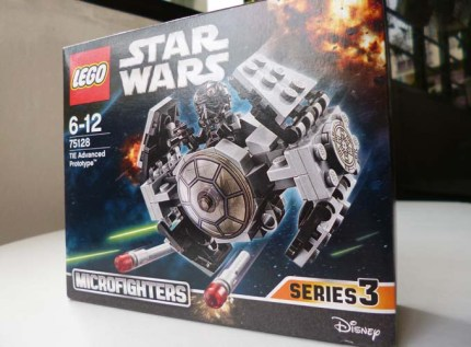 Lego Star Wars TIE Advanced Protoype 1
