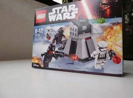 Lego Star Wars First Order Battle Pack 1