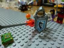 Lego Nexo Knight Merlok's Library 22