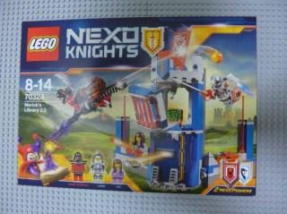 Lego Nexo Knight Merlok's Library 5