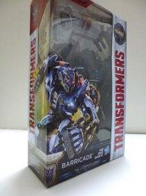 Transformers 5 Hasbro Barricade 1