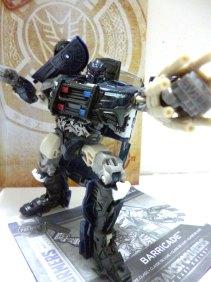Transformers 5 Hasbro Barricade 2