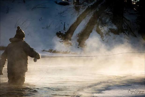 Trayser Winter Montana flyfishing 2