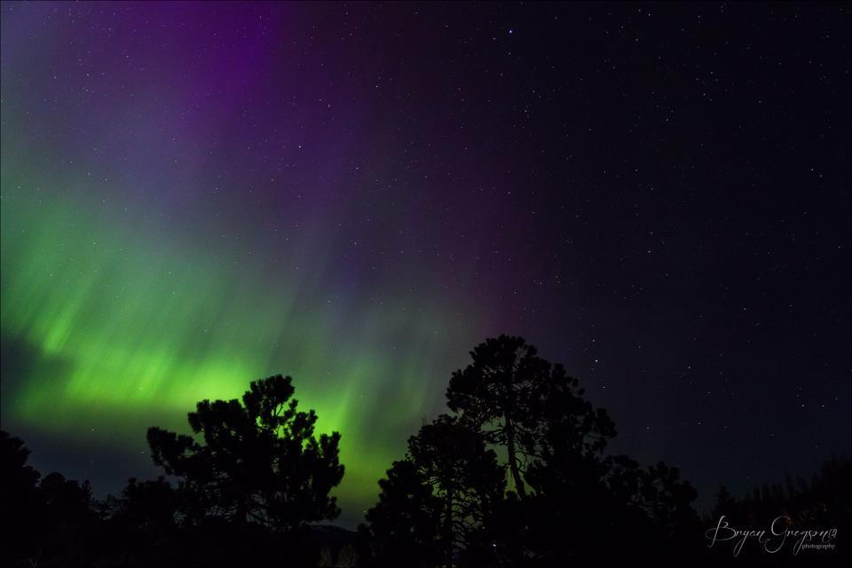Aurora Borealis_Southeawt Alaska_Bryan Gregson