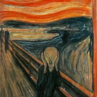 The Scream - doesn't it make you want to scream