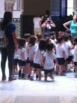 Schoolchildren in Alcazar