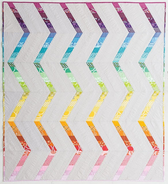 Rainbow Streak {Modern Rainbow}
