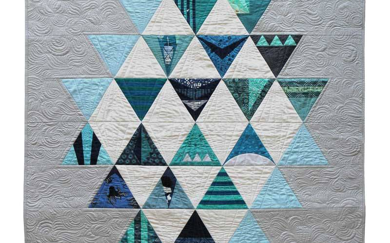 Modern Triangle Quilts {Blog Tour Wrap Up}