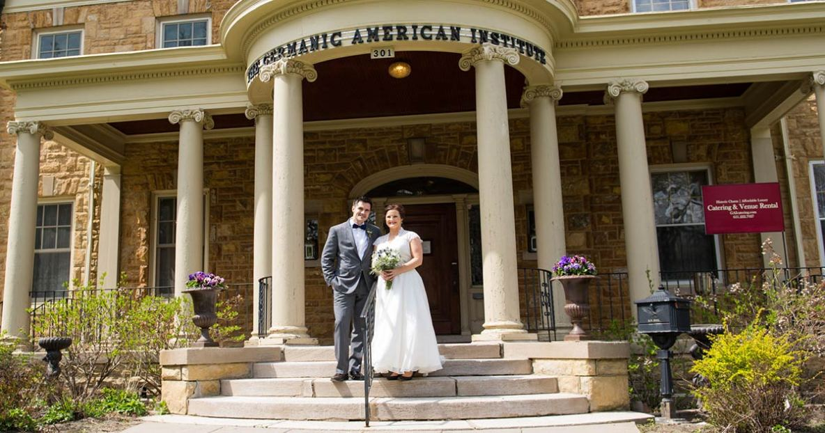 Wedding Photography at Germanic American Institute in St Paul, MN.