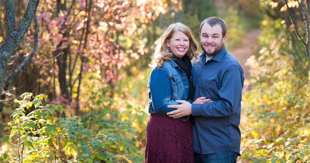 Engagement photos at Park Point in Duluth, MN by Bryan Jonathan Weddings.