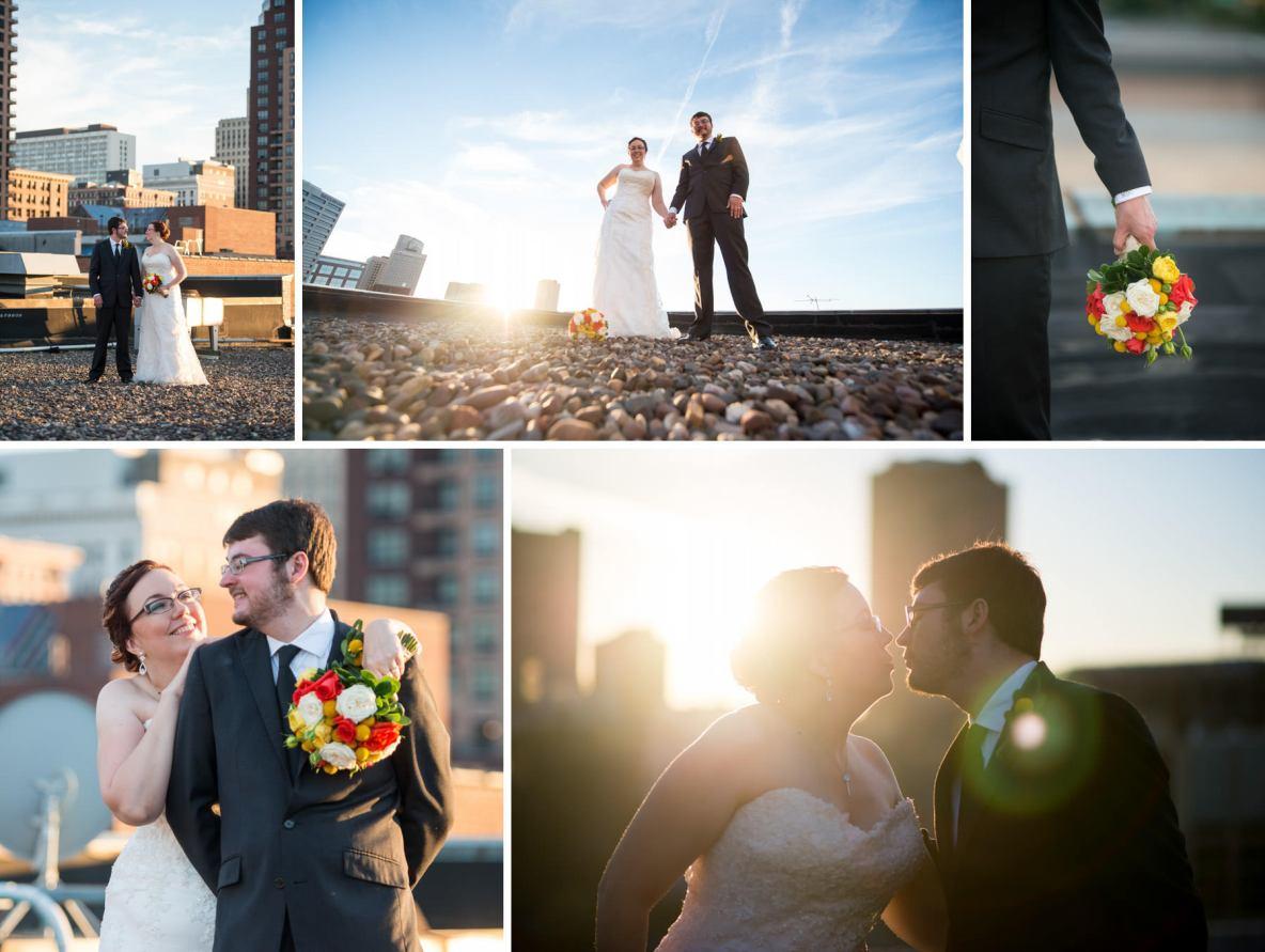 Fall wedding at 413 on Wacuta in Lowertown Saint Paul, MN.