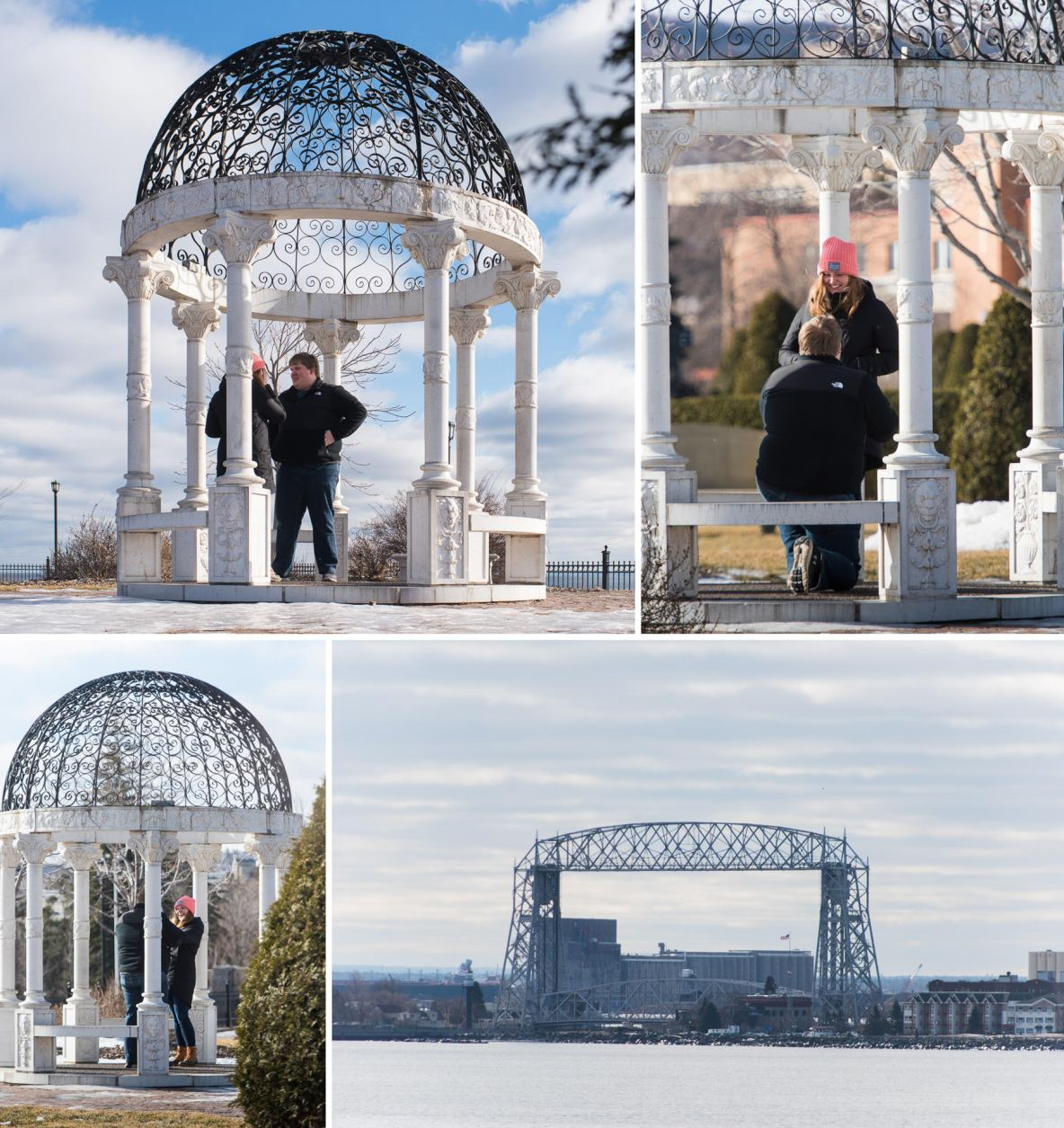 Duluth, MN Proposal Photography.