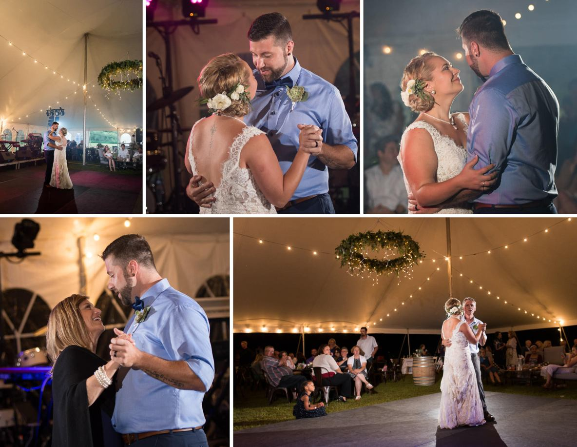 Photos of the first dance