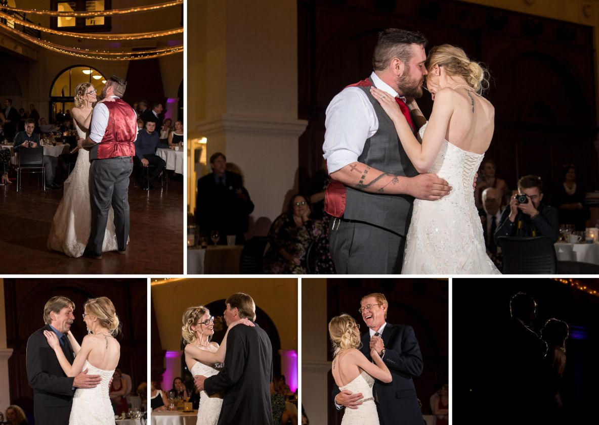 Lex and Maddie's first dances.