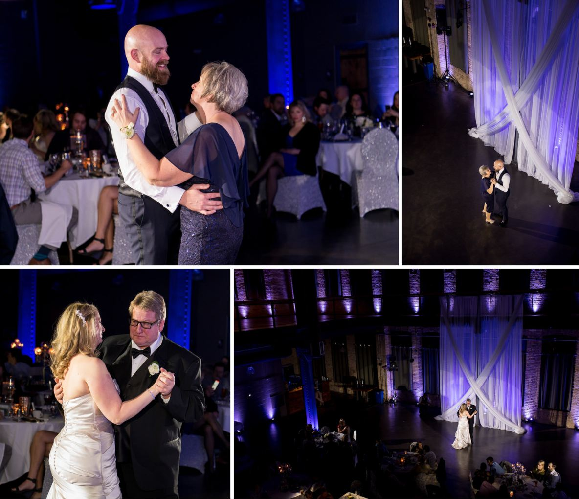 Photos of Chris and Lindsay's first dance.