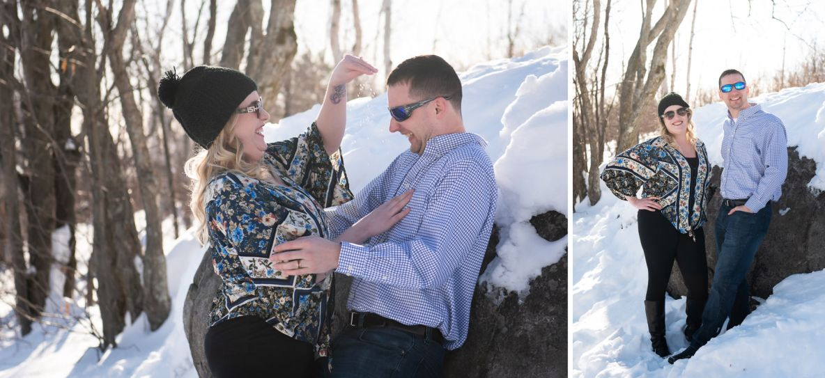 Brad and Miala's engagement pictures.
