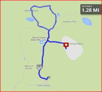Norris Geyser Basin Walk 9/9