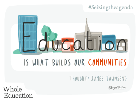 Education is what builds communities