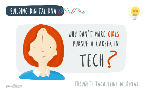 Why don't more girls pursue a career in Tech?