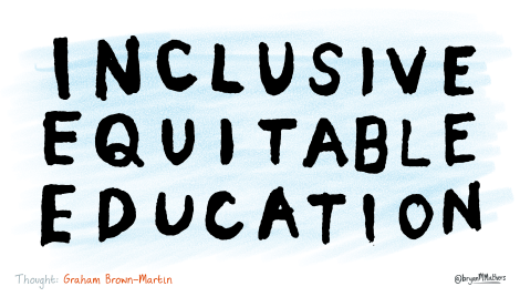 Inclusive, equitable education