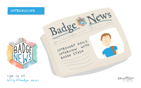 Introducing Badge News