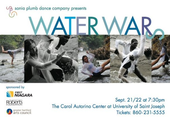 """The year started with Sonia Plumb Dance Company's """"Water Wars"""", a night bringing awareness to human's relationship with water..."""