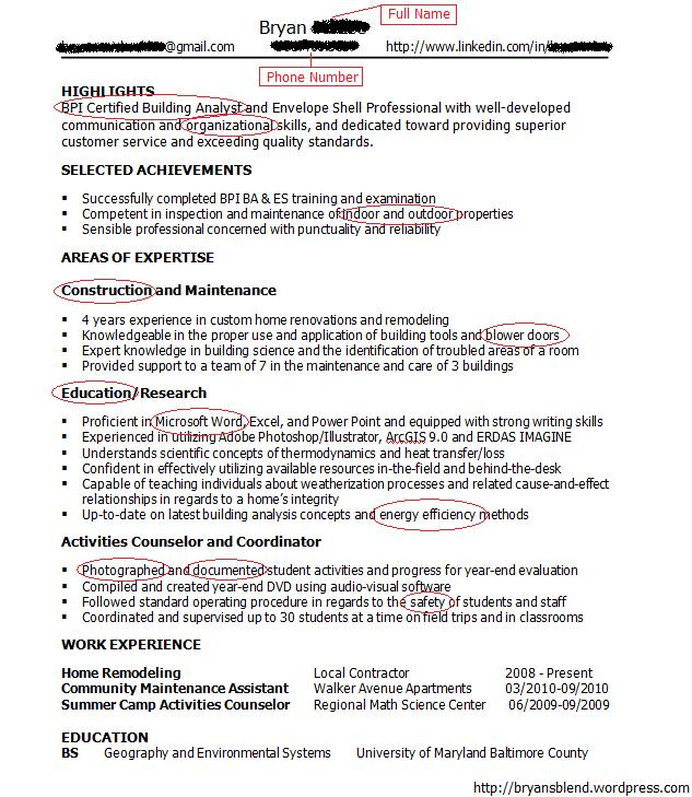 Successful Resume Formats. Resumes Examples Of Most Successful