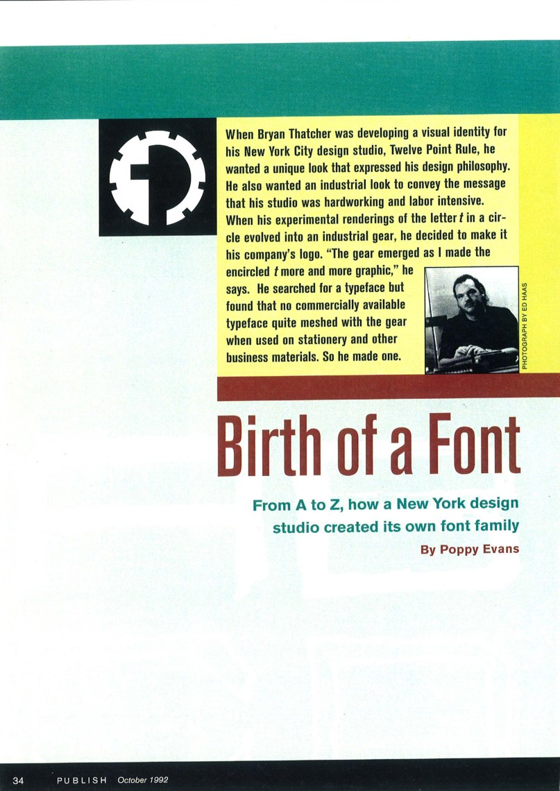 Birth of a Font