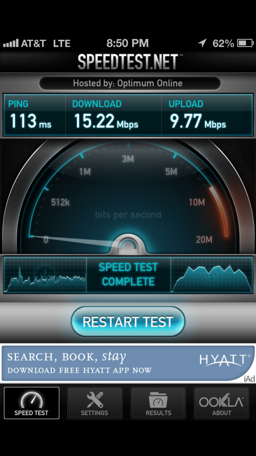 AT&T on my iPhone 5