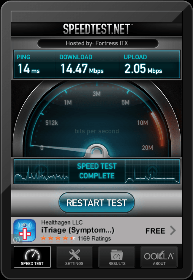 Wi-Fi to my Time Warner Cable on iPad