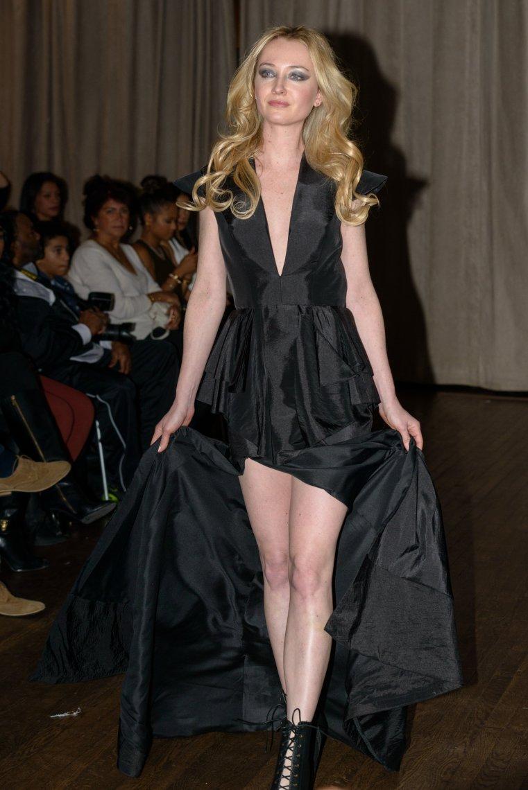 SuzyMae at the  Autumn Hawk fashion show