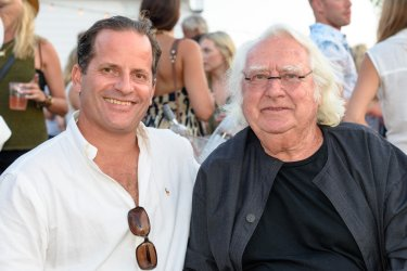 Tommy and Richard Meier