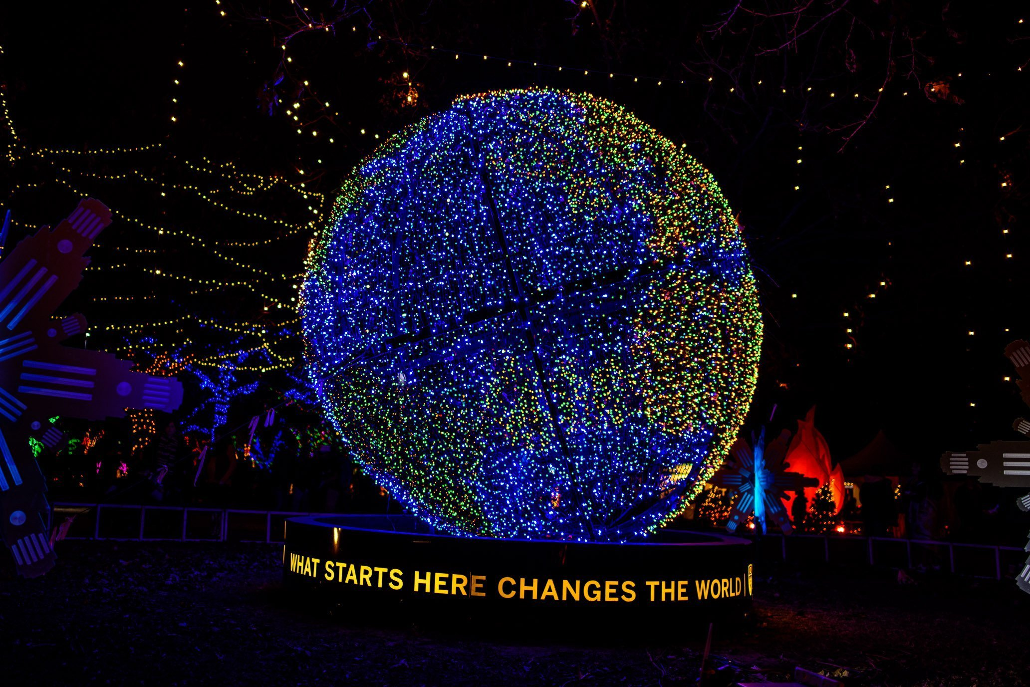 Trail of Lights, world