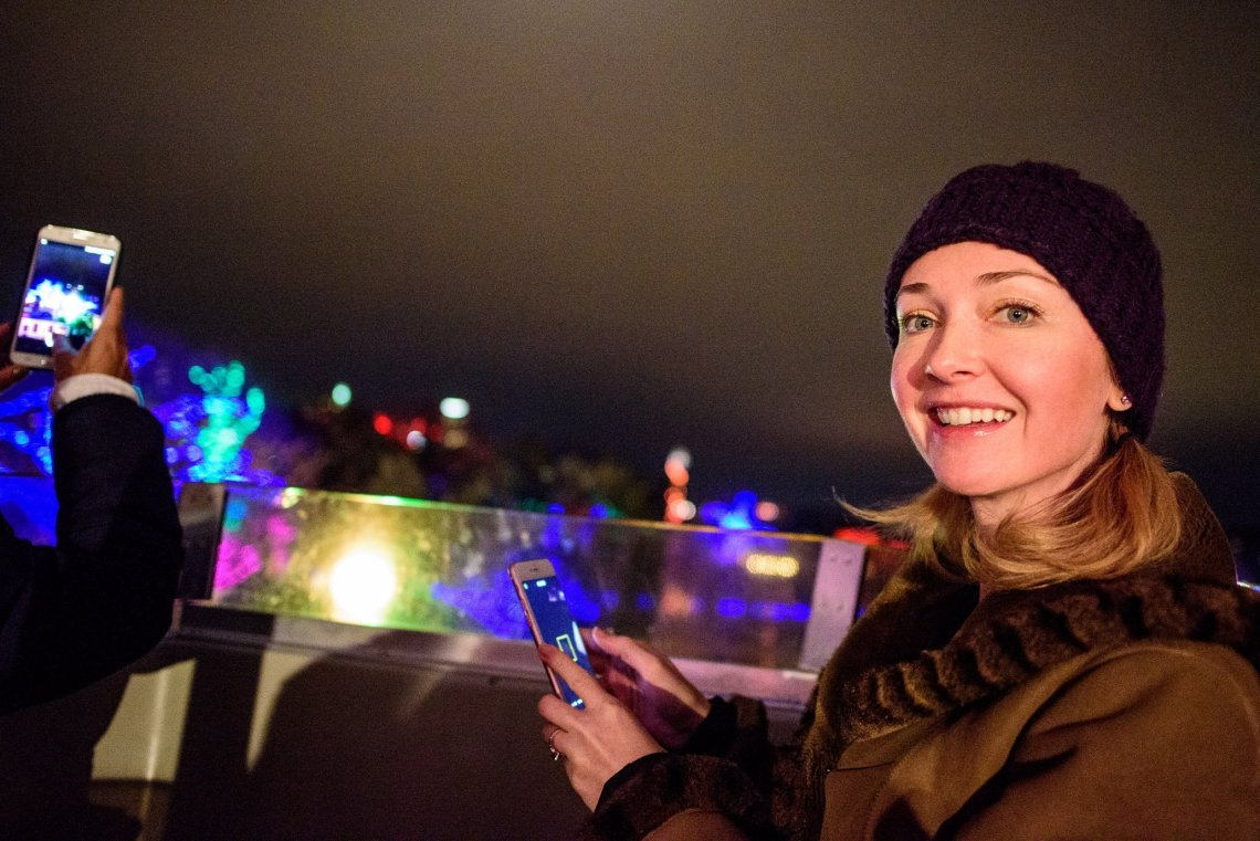 Trail of Lights, SuzyMae, ferris wheel
