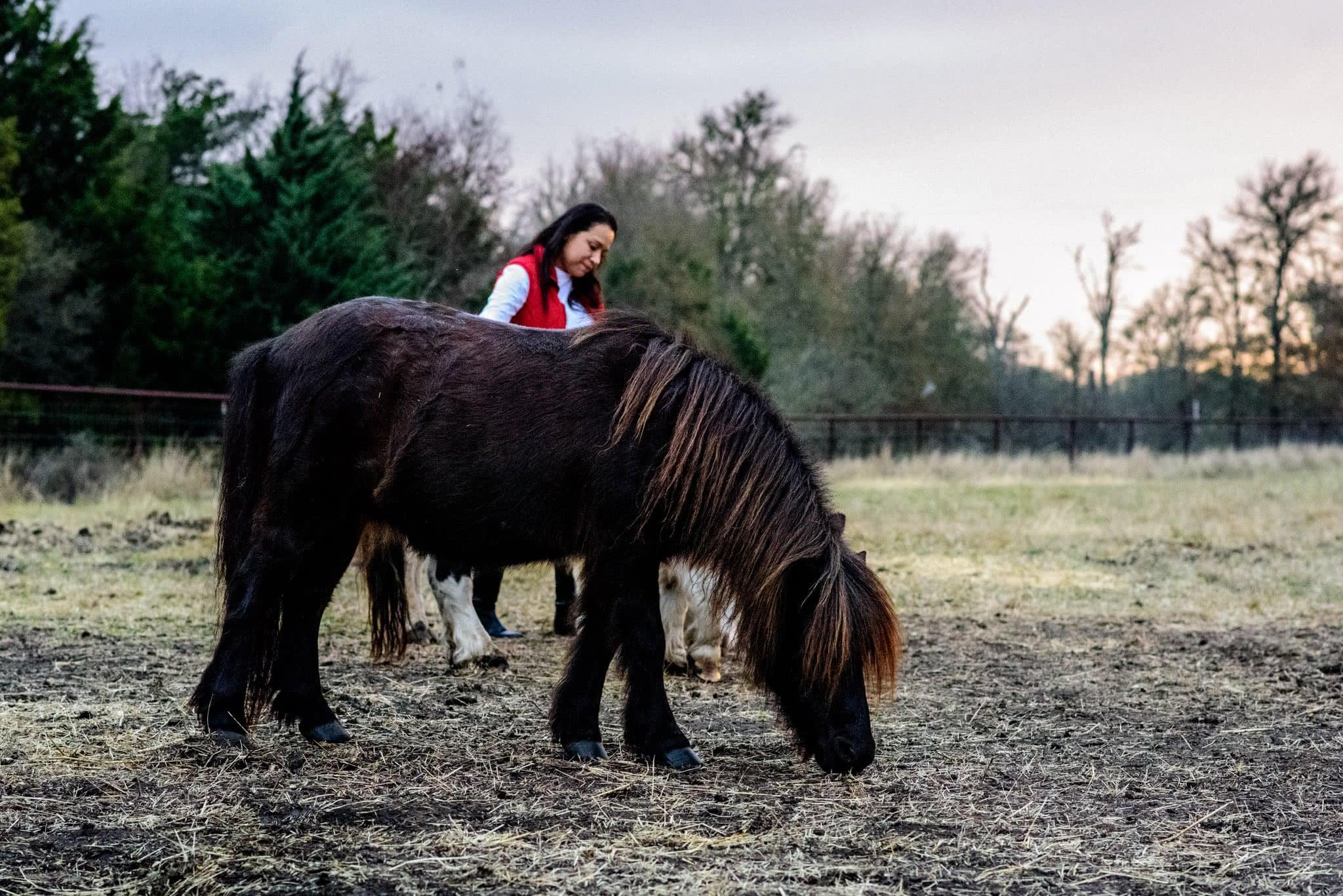 Silvia and Pony