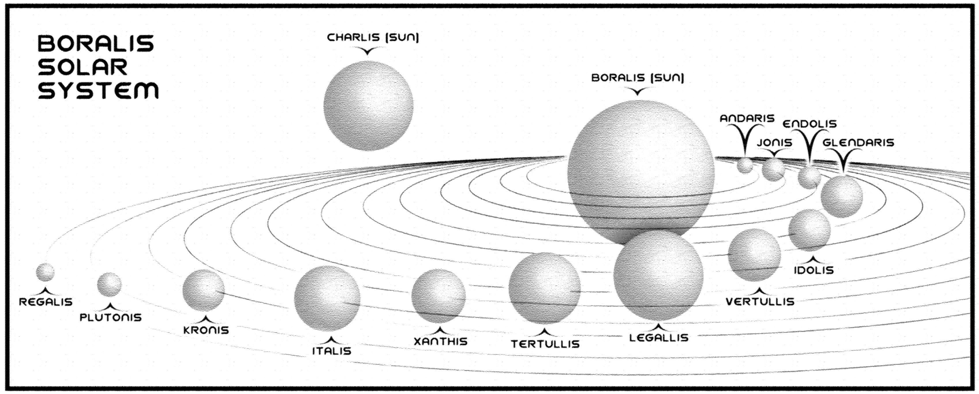 My Solar System Print Book