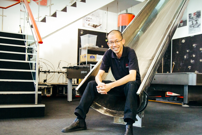 From Building the Red Rhino to Creating an Iron-Man, Peter Ho
