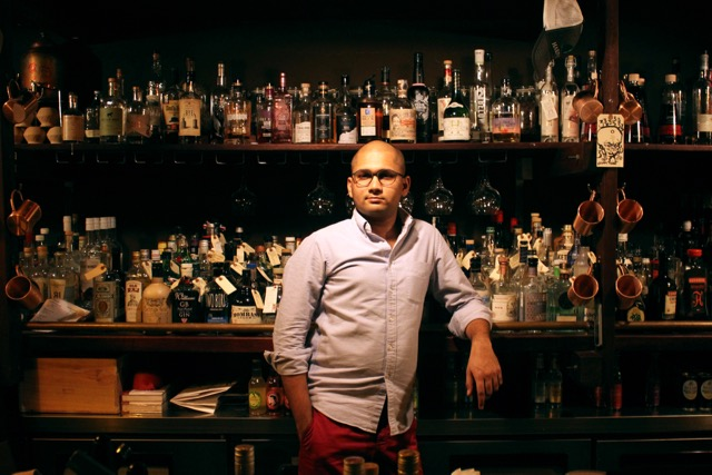 Owner and Barman of Spiffy Dapper, George Cherian Abhishek
