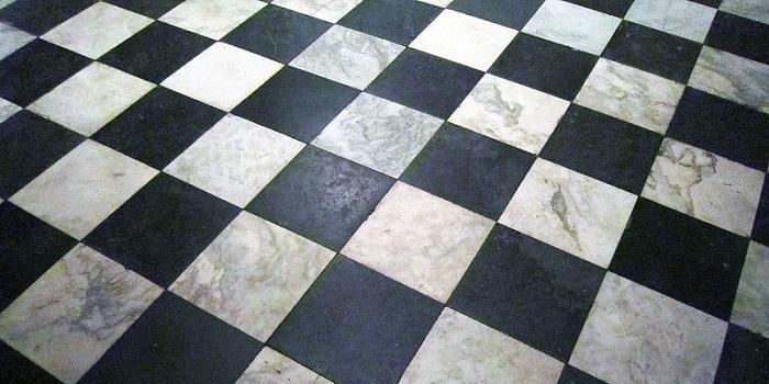 Black and White Marble Tiles for Flooring
