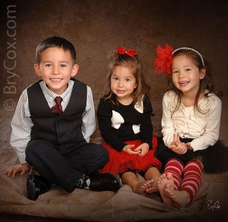 Monicas Family Christmas Portraits