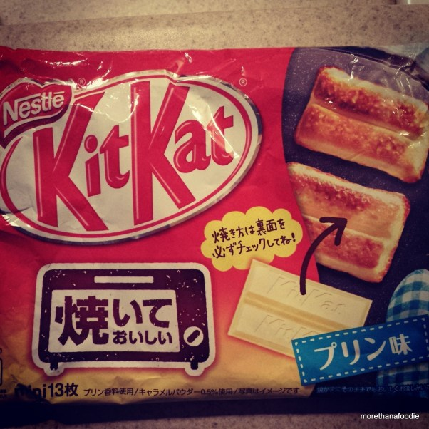 baked pudding kit kats japan morethanafoodie