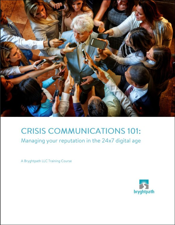 Crisis Communications 101 eBook Cover
