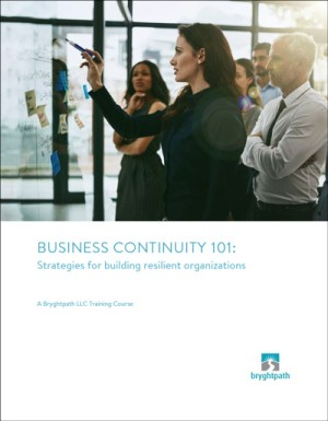 Business Continuity 101 eBook Cover